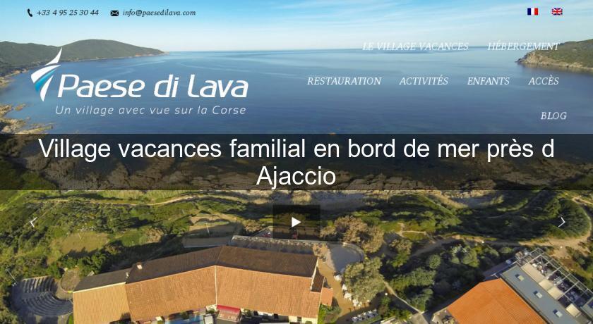 village vacance ajaccio