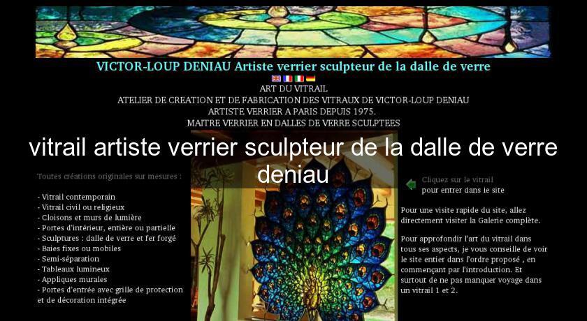 vitrail artiste verrier sculpteur de la dalle de verre deniau id u00e9e d u00e9coration