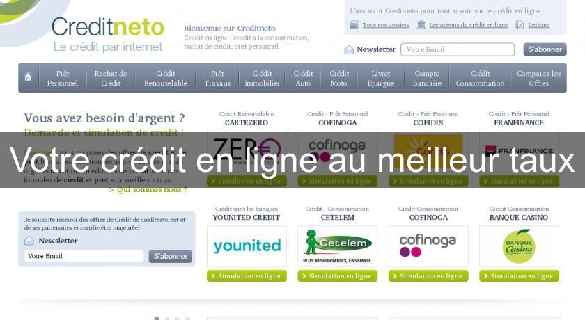 Image Result For Credit En Ligne Meilleur Tauxa