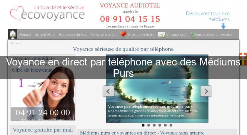 Voyance en direct par téléphone avec des Médiums Purs Voyance 22c4ae30a6b3