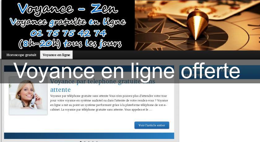 Voyance en ligne offerte Voyance bb9c1bb409f0