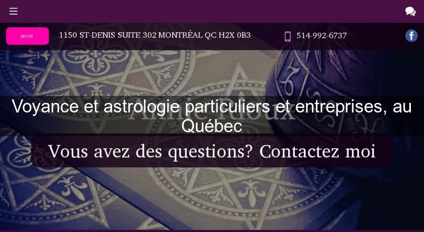 9b4c8ece88a5c5 Voyance et astrologie particuliers et entreprises, au Québec Voyance