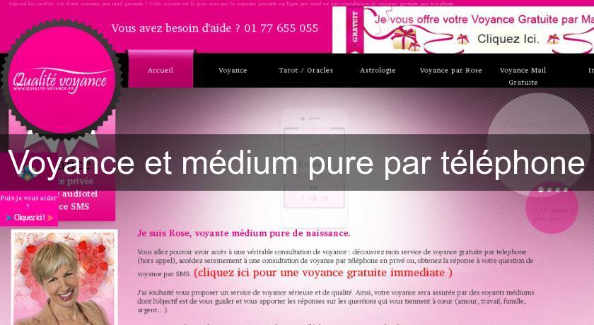 Voyance et médium pure par téléphone Voyance aa964b0f975c
