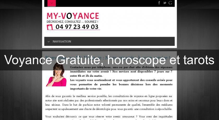 Voyance Gratuite, horoscope et tarots Voyance 1072609f0ca6