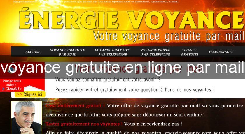 c00def2f6c4156 voyance gratuite en ligne par mail Voyance
