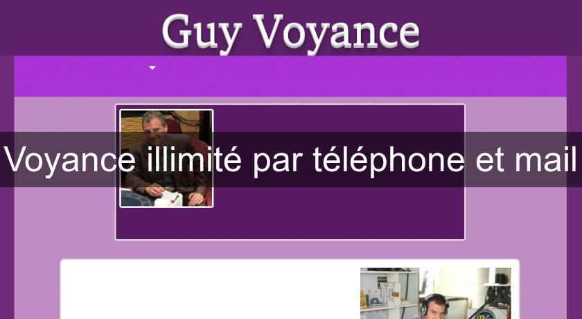 Voyance illimité par téléphone et mail Voyance 2949b1962d0d