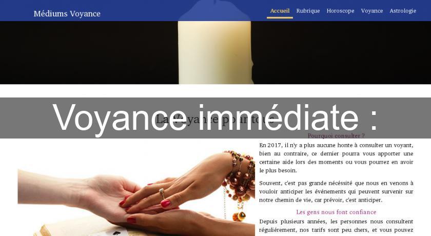 Voyance immédiate   Voyance 07ab42d26917