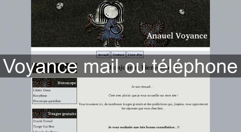 Voyance mail ou téléphone Voyance c38c7d996938