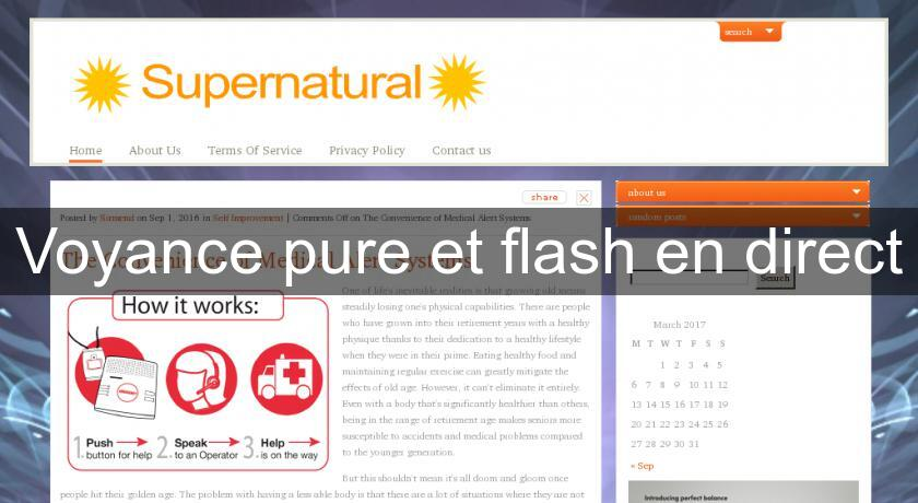 Voyance pure et flash en direct