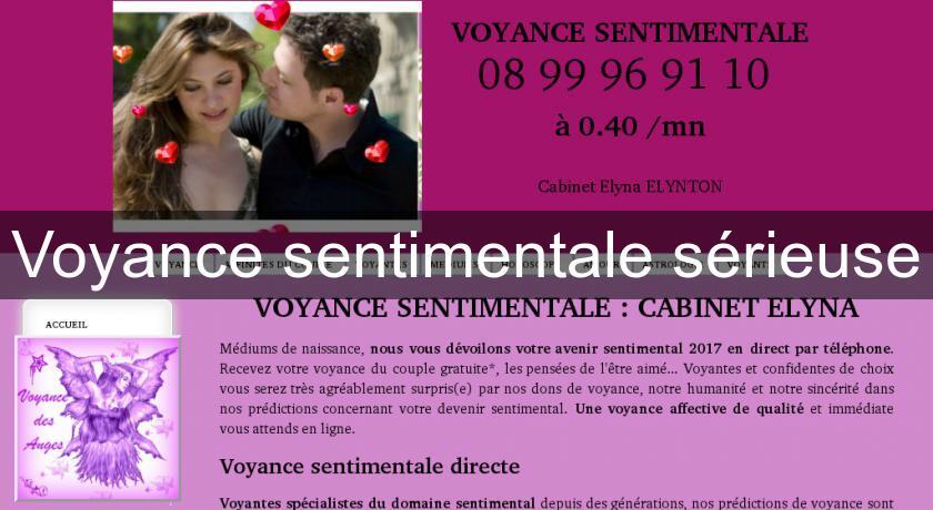 Voyance sentimentale sérieuse Voyance 1e29e073ab53