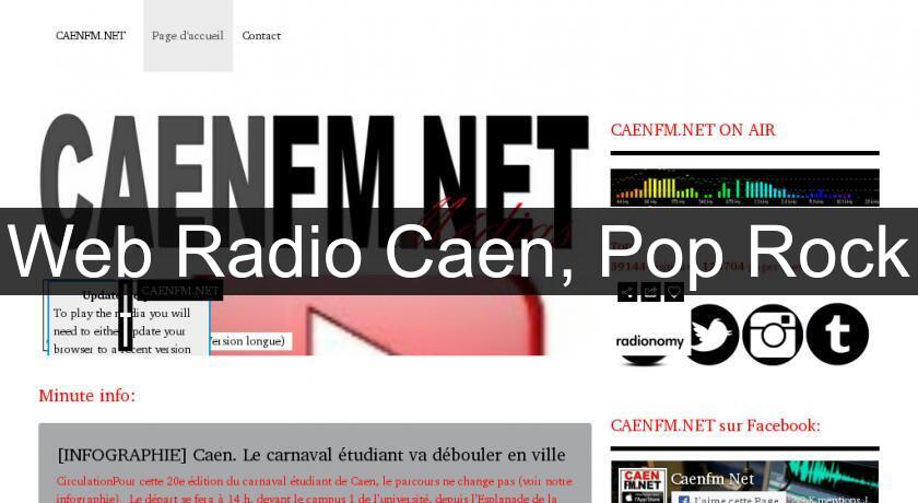 Web Radio Caen, Pop Rock