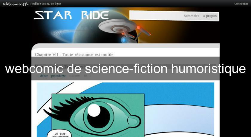 webcomic de science-fiction humoristique