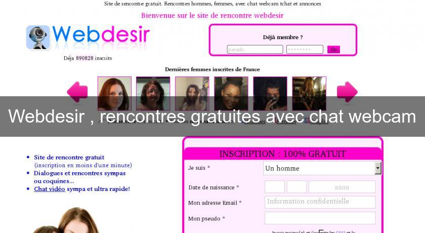 Site re rencontre sans inscription