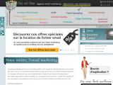 Campagne emailing et email retargeting