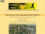 Club de football de Saint Thibery, Hérault (34)