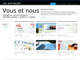 Communication web, print, et marketing, Paris