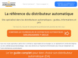 Comparatif distributeurs automatiques de boissons