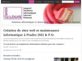 Création de sites web et maintenance informatique, Prades (66)