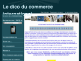 Dictionnaire du Commerce International