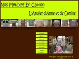 Fabrication artisanale de meubles en cartons