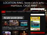 Fabrication et location de ring de boxe, catch et cages  MMA