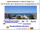 location appartement var - location sanary sur mer