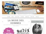 Magasine mode et lifestyle au masculin