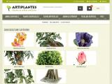 Plantes artificielles décoratives