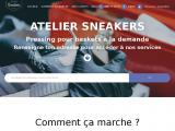 Pressing nettoyage Basket Paris : Atelier Sneakers