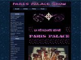 Spectacle de cabaret au Paris Palace Show