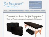 Table d'ostéo ou de massage pliable