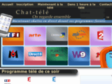 Tchat de discussion sur les programmes TV