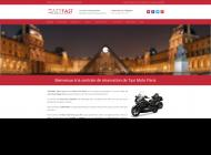 transport en Moto Taxi sur Paris