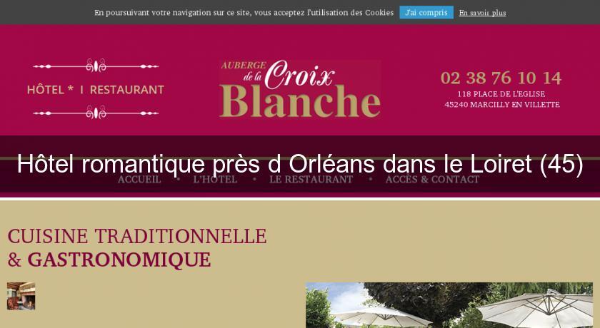 H tel romantique pr s d 39 orl ans dans le loiret 45 h tel for Hotel romantique region parisienne