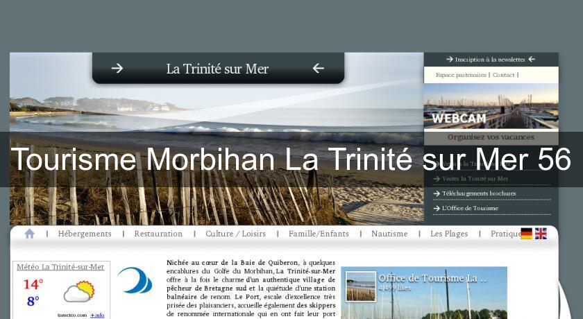 Tourisme morbihan la trinit sur mer 56 s jour c te atlantique - Office de tourisme la trinite sur mer ...