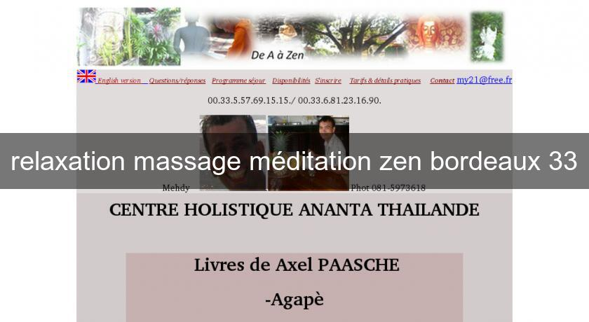 relaxation massage méditation zen bordeaux 33