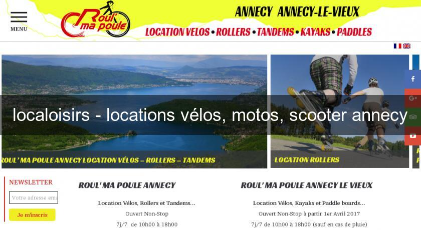 localoisirs - locations vélos, motos, scooter annecy