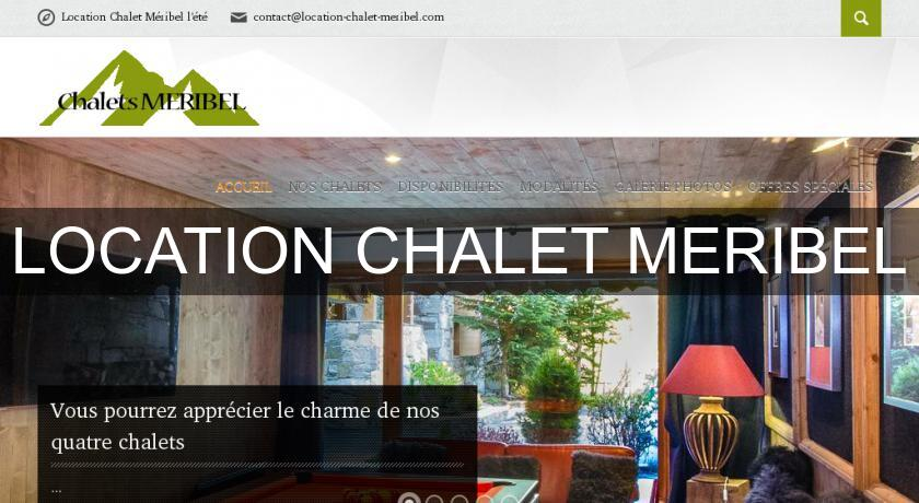 LOCATION CHALET MERIBEL