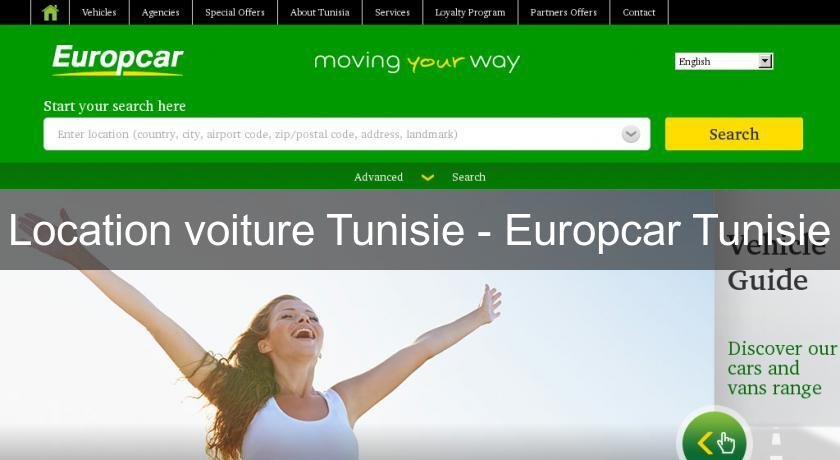 Location voiture Tunisie - Europcar Tunisie