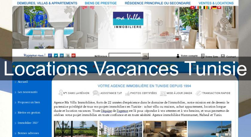 Locations Vacances Tunisie