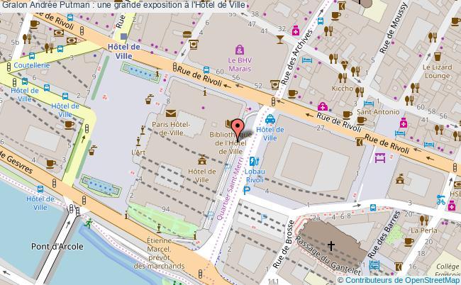 plan Andrée Putman : Une Grande Exposition à L'hôtel De Ville
