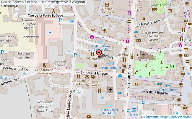 plan Andres Serrano : Une Rétrospective à Avignon