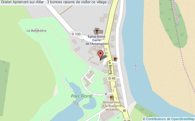 plan Apremont-sur-allier : 3 Bonnes Raisons De Visiter Ce Village