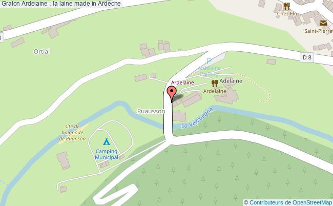 plan Ardelaine : La Laine Made In Ardèche