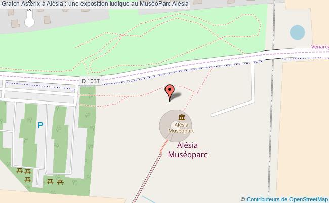 plan Astérix à Alésia : Une Exposition Ludique Au Muséoparc Alésia