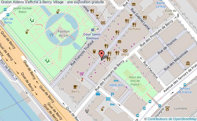 plan Astérix S'affiche à Bercy Village : Une Exposition Gratuite