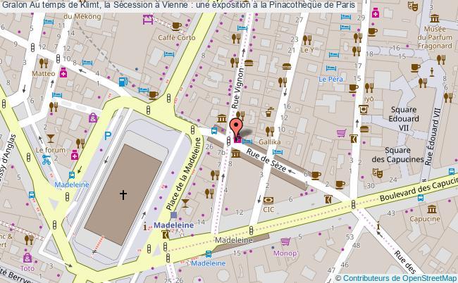 plan Au Temps De Klimt, La Sécession à Vienne : Une Exposition à La Pinacothèque De Paris