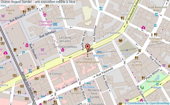 plan August Sander : Une Exposition Inédite à Nice