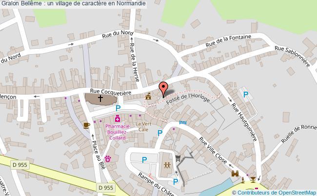 plan Bellême : Un Village De Caractère En Normandie