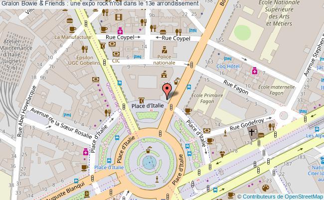 plan Bowie & Friends : Une Expo Rock'n'roll Dans Le 13e Arrondissement